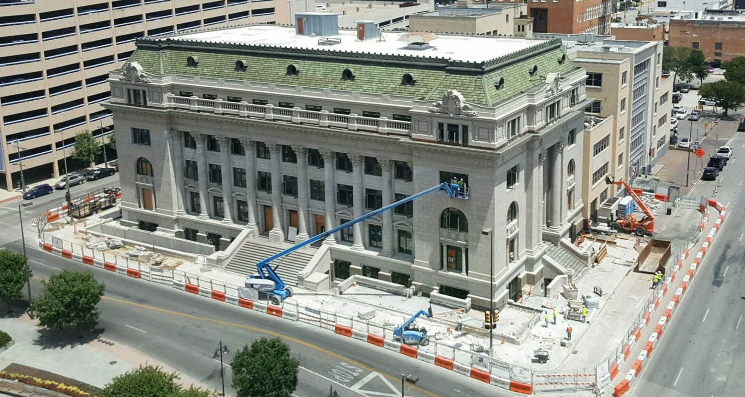 Dallas Old Municipal Building : Phoenix 1 Restoration And Construction, Ltd