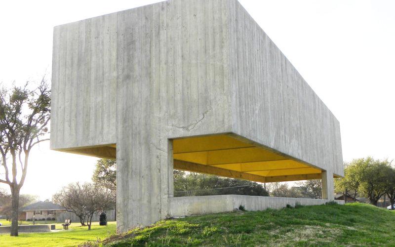 Webb Chapel Park Pavilion, Designed by Cooper Joseph Studio