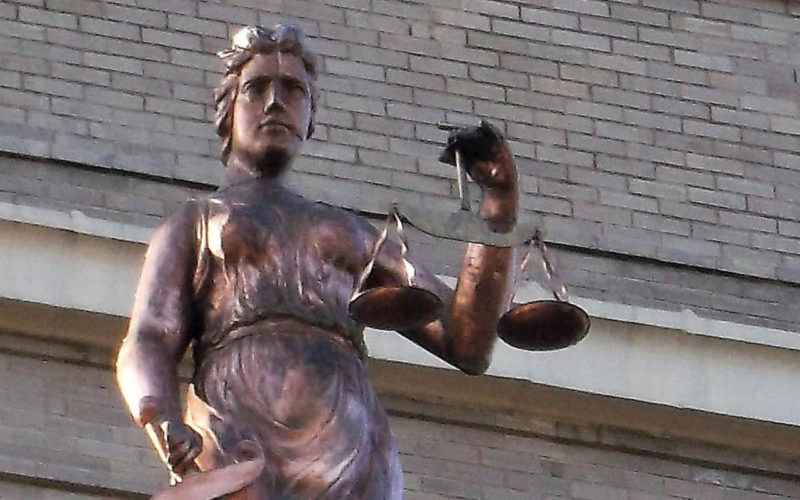 Lady of Justice Statue Returns to Courthouse After Decades-Long Absence